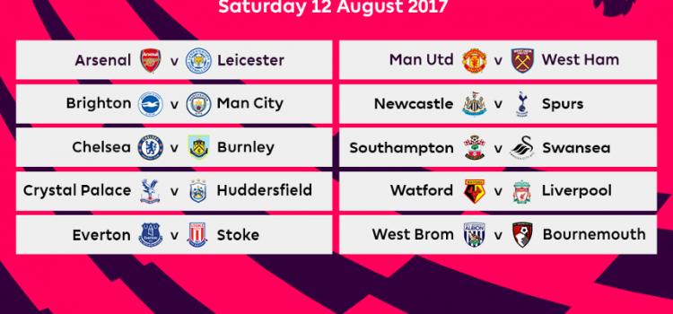 Chelsea Calendario.Calendario Premier League 2017 2018 Fantadritte
